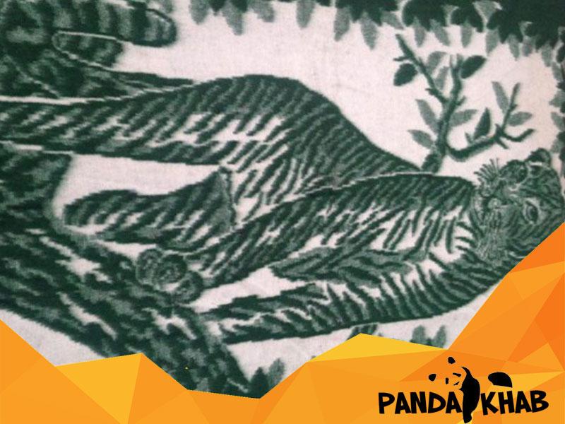 پتو مینک پلنگی