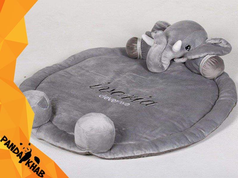 تشک نوزاد طرح فیل