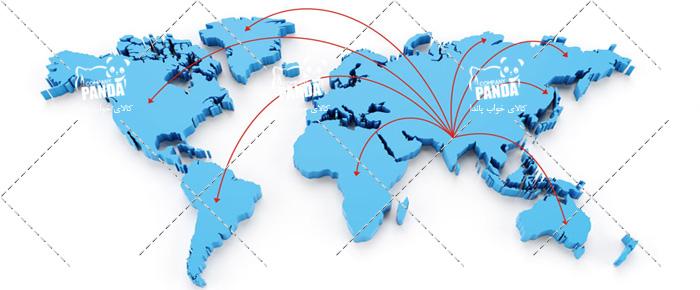 صادرات تشک های سفری